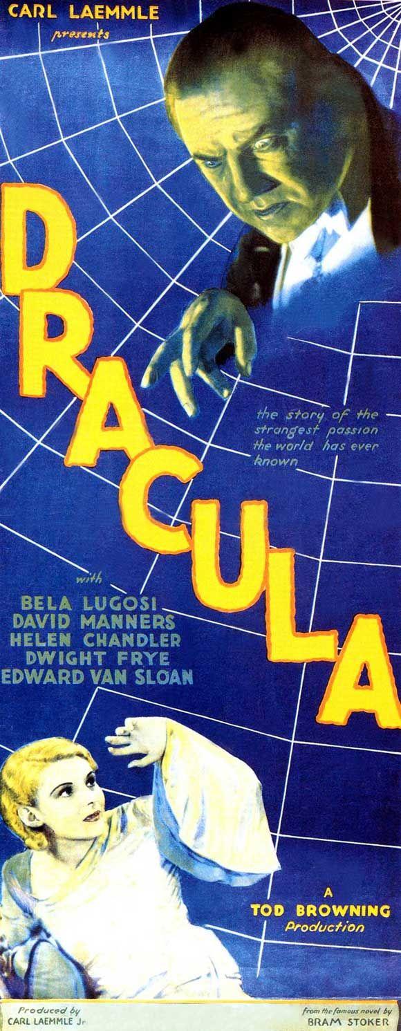 %22Dracula%22 (1931-Tod Browning) Bela Lugosi, Helen Chandler