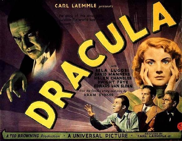 %22Dracula%22 (1931-Tod Browning) poster