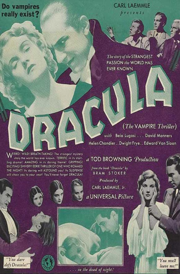 %22Dracula%22 (1931-Tod Browning) theatrical release poster