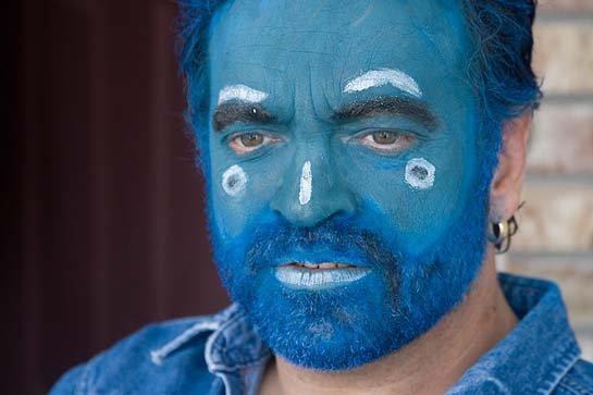 Alfred Eaker as BlueMahler