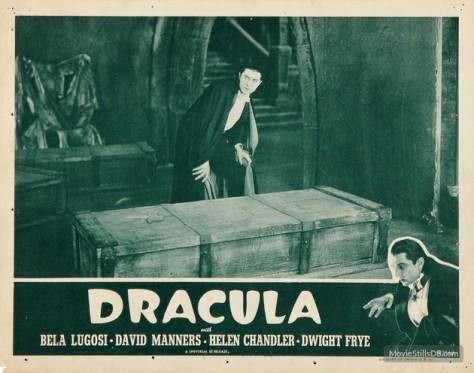 Dracula (1931) lobby card.