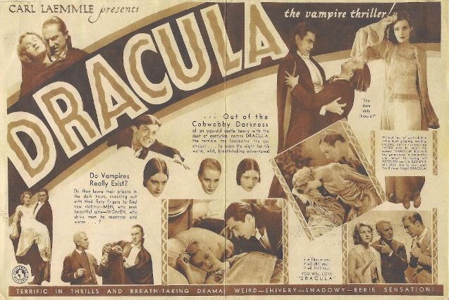 Dracula (1931 Tod Browning) Bela Lugosi, Helen Chandler