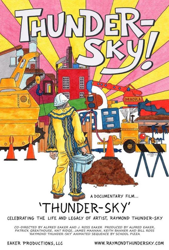 Eaker Productions poster for %22Thundersky%22