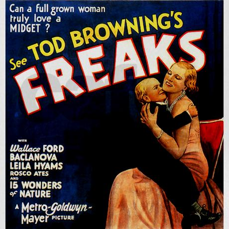 Tod Browning Freaks Poster