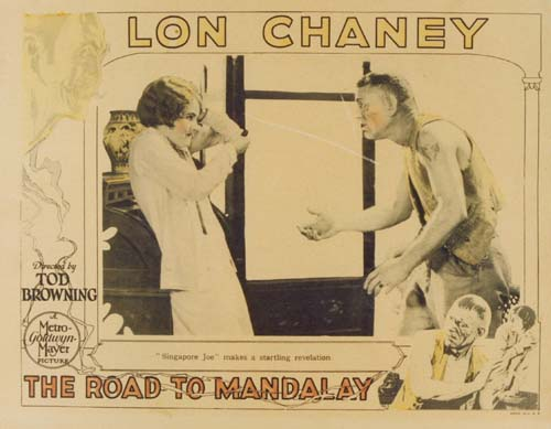 TOD BROWNING Road To Mandalay Lobby
