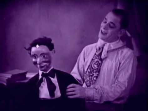 Tod Browning The Unholy Three 1925 tinted still Lon Chaney