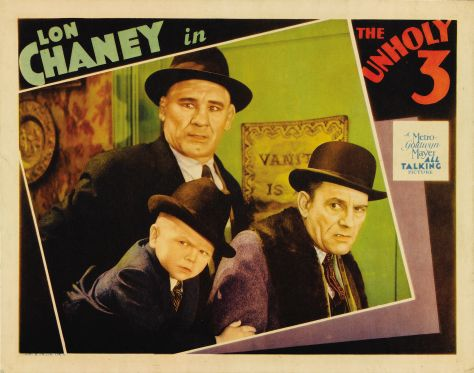 Tod Browning The Unholy Three 1925