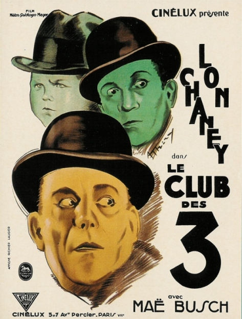 Tod Browning The Unholy Three one sheet