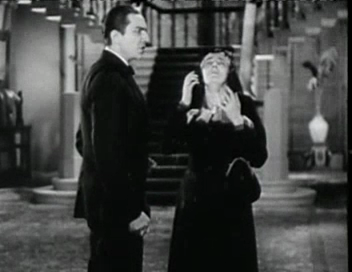 TOD BROWNING 13TH CHAIR. Bela Lugosi %22SO there are 2 Helens!%22