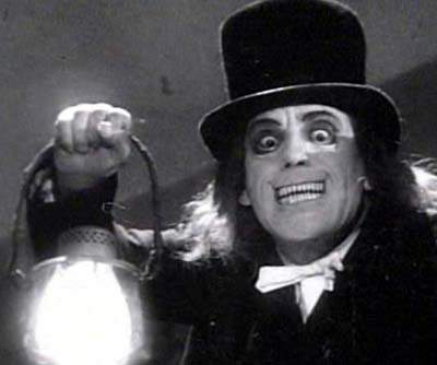 Tod Browning LONDON AFTER MIDNIGHT LAMP