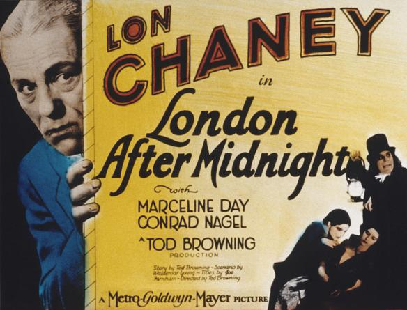 Tod Browning LONDON AFTER MIDNIGHT poster II