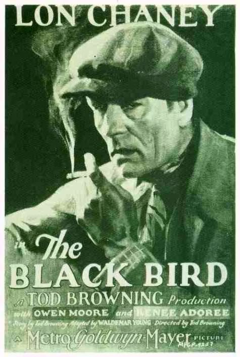 Tod Browning The Blackbird 1926