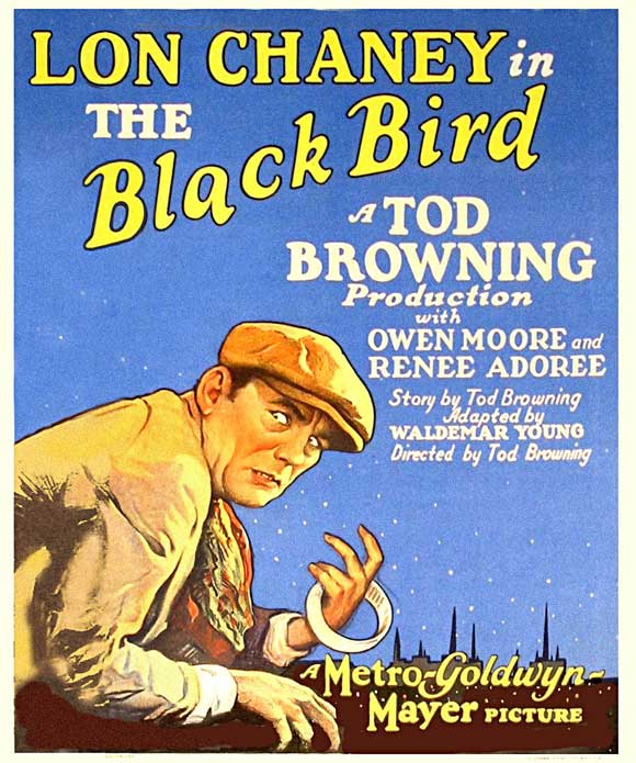 Tod Browning The Blackbird MGM