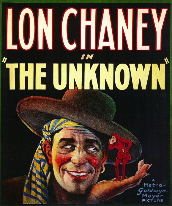 Tod Browning The Unknown 1927 poster