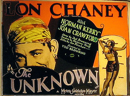 Tod Browning The Unknown Lobby