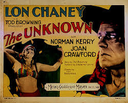 Tod Browning The Unknown