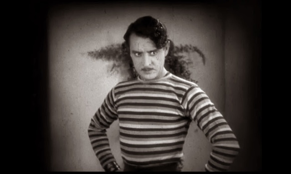 John Gilbert in %22The Show%22 (1927) Tod Browning
