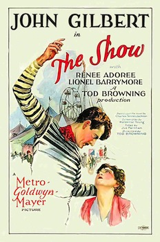 Tod Browning's The Show poster