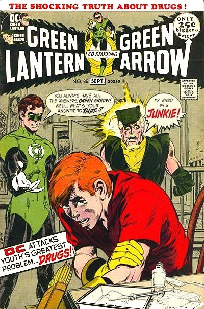 green lanter green arrow
