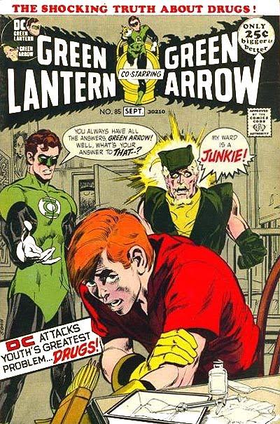 green lanter green arrow