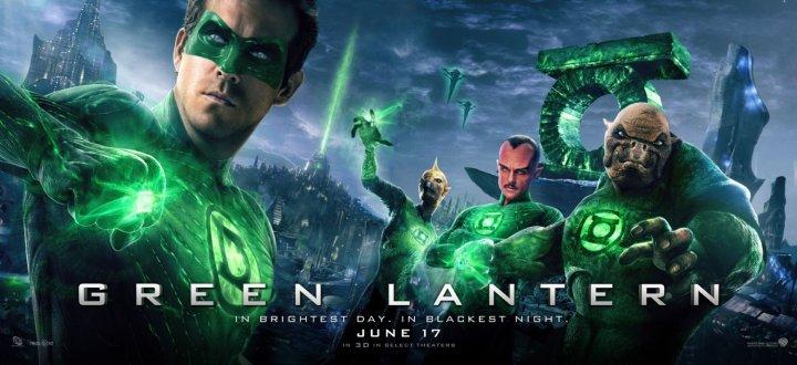 Green Lantern (2011) poster