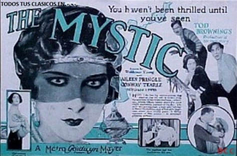 Tod Browning The Mystic
