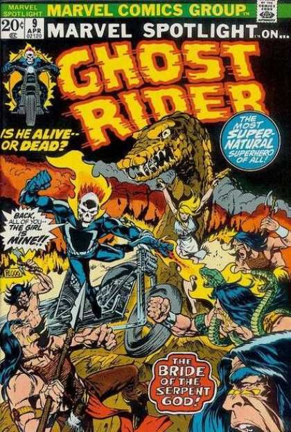 Ghost RIder Marvel Spotlight