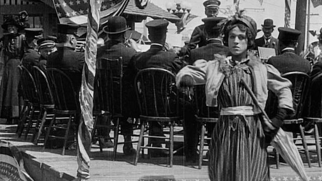 Charlie Chaplin A Busy Day