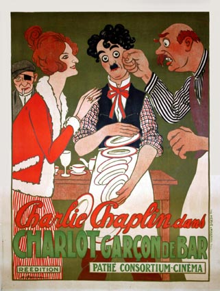 Charlie Chaplin Caught in a Cabaret