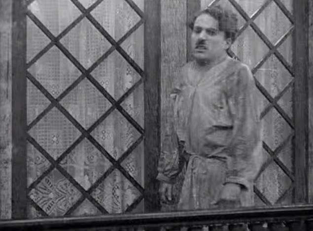 Charlie Chaplin Caught in the Rain