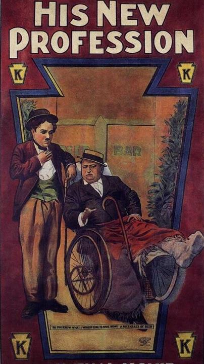 Charlie Chaplin His New Profession
