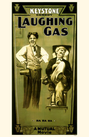 Charlie Chaplin Laughing Gas