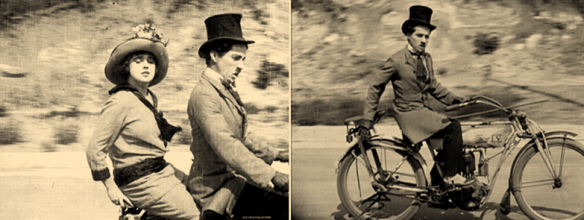 Charlie Chaplin Mabel At The Wheel