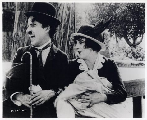 Charlie Chaplin Mabel Normand His Trysting Place