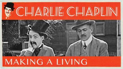 Charlie Chaplin Making A Living (1914