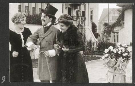 Charlie Chaplin Making A Living (1914).