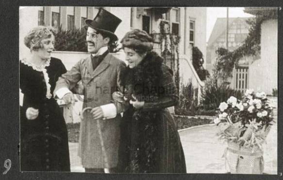 Charlie Chaplin Making A Living (1914).