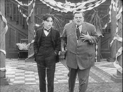 Charlie Chaplin Roscoe Arbuckle Tango Tangles