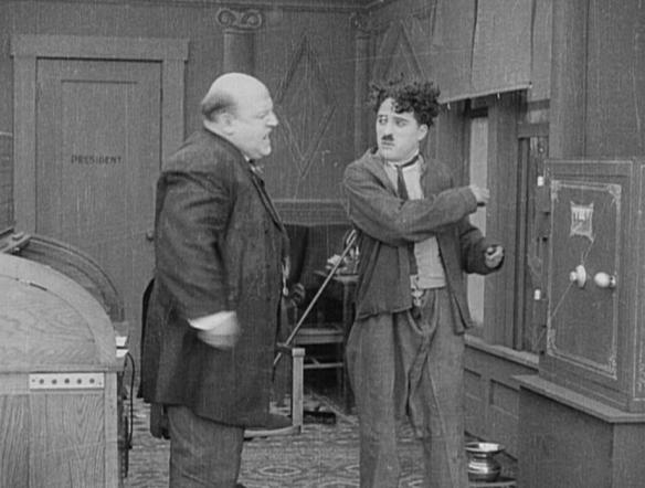 Charlie Chaplin The New Janitor