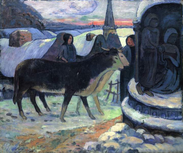 Paul Gauguin %22Christmas Night%22