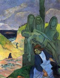 Paul Gauguin %22Green Christ%22