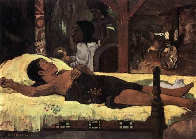 Paul Gauguin %22Tahitian Nativity%22