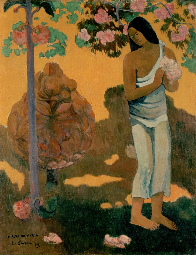 PAUL GAUGUIN THE MONTH OF MARY