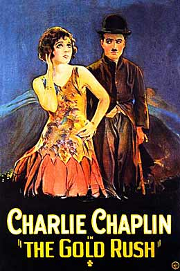 Chaplin Hale Gold Rush (poster)