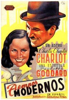 Charlie Chaplin Modern Times poster