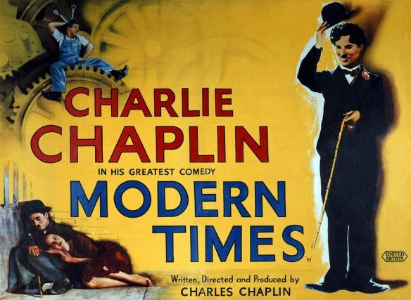 Charlie Chaplin Modern Times (poster)
