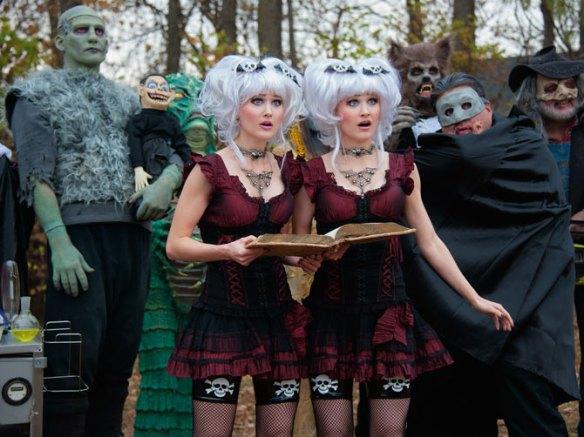 Creeporia and cast!