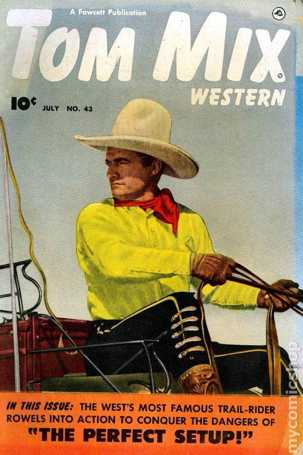 Tom Mix comics