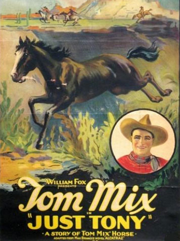 TOM MIX JUST TONY POSTER