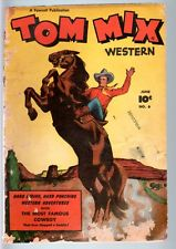 Tom Mix Western comics 1948